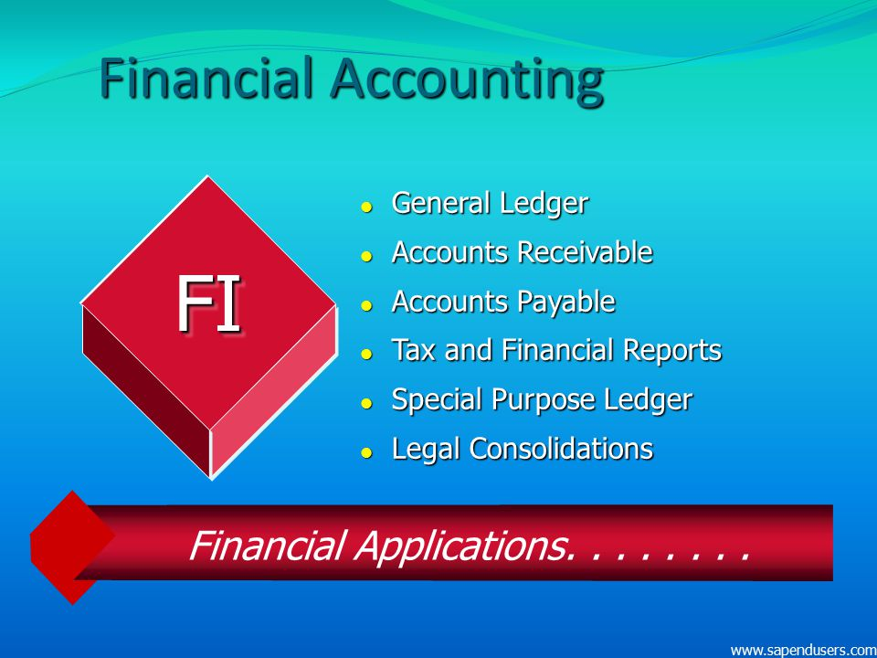 Financial Applications. . . . . . . .