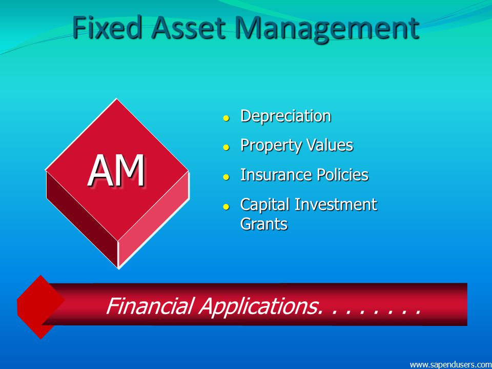 Fixed Asset Management