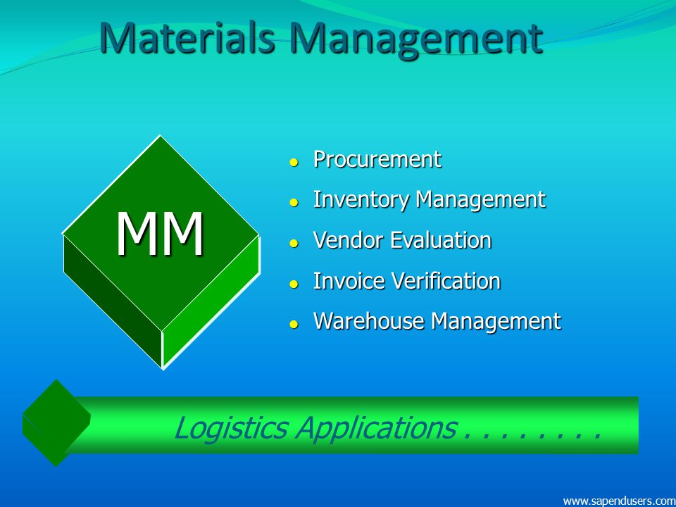 Logistics Applications . . . . . . . .