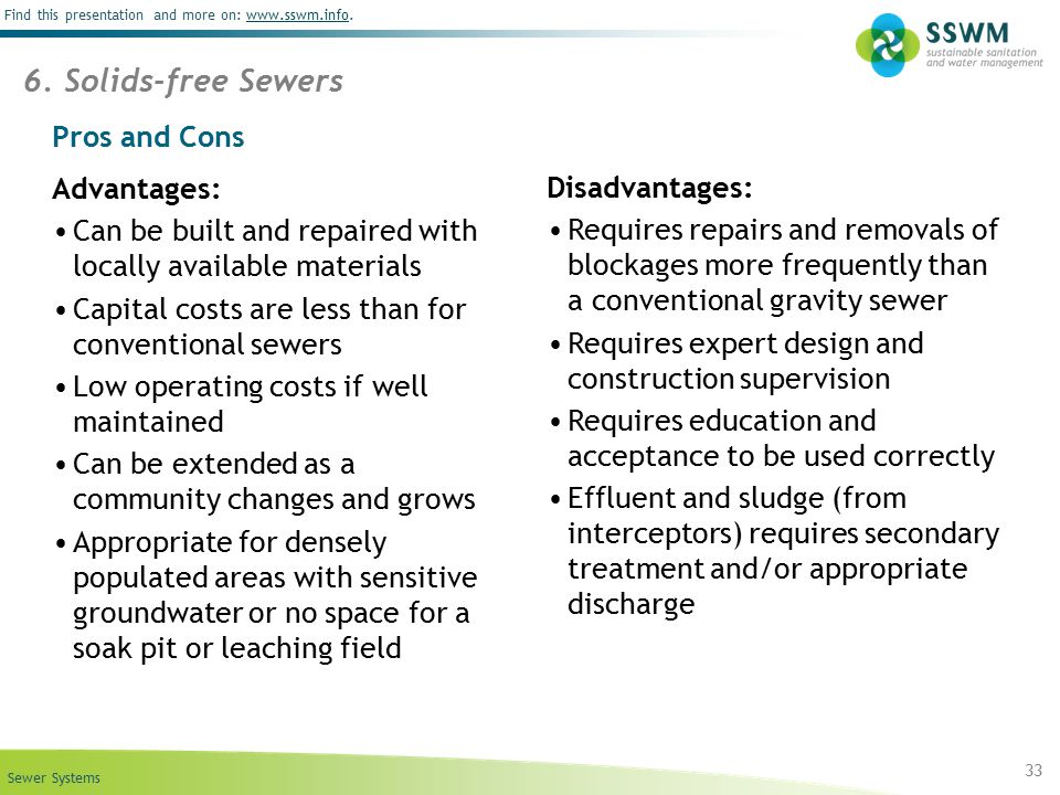 Beat stauffer seecon international gmbh ppt download for Sewer liners pros and cons