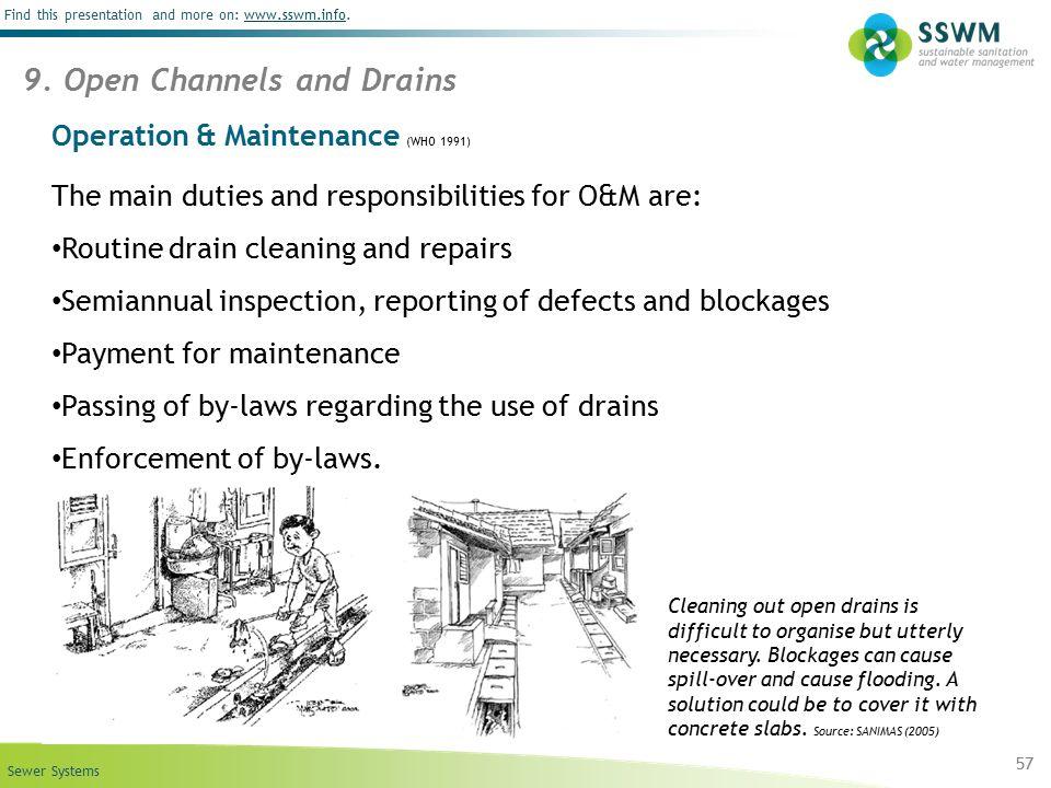 Operation & Maintenance (WHO 1991)