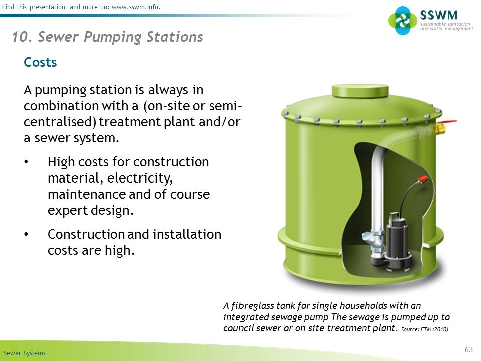 10. Sewer Pumping Stations