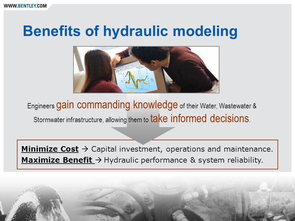 Benefits of hydraulic modeling