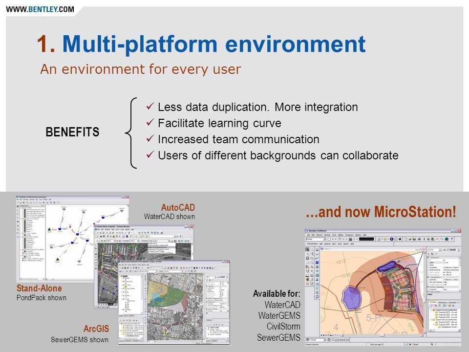 1. Multi-platform environment