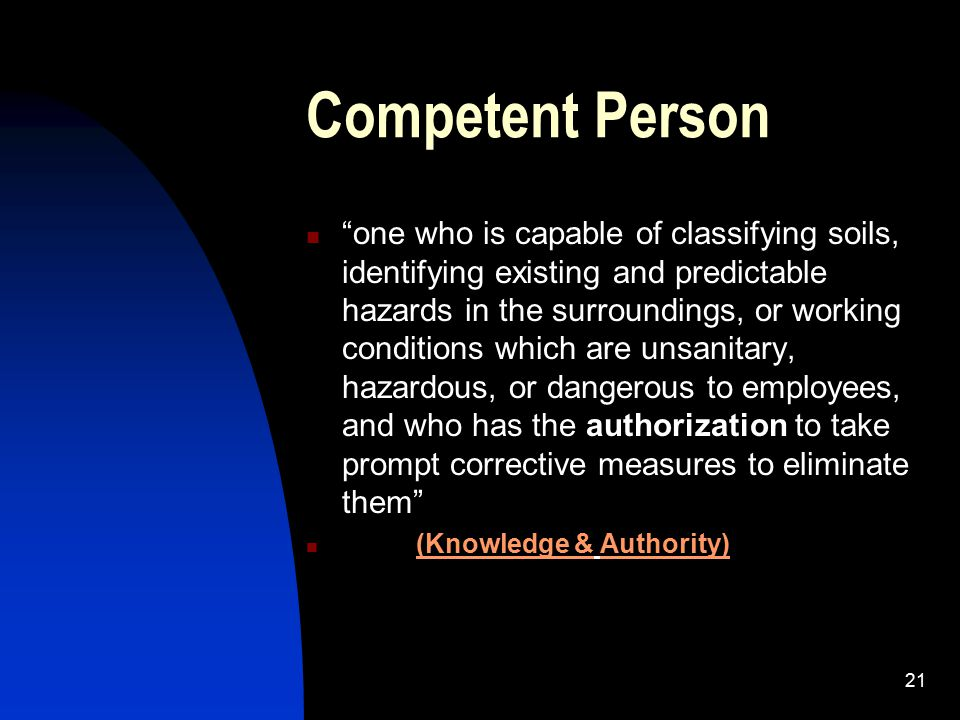 Competent Person