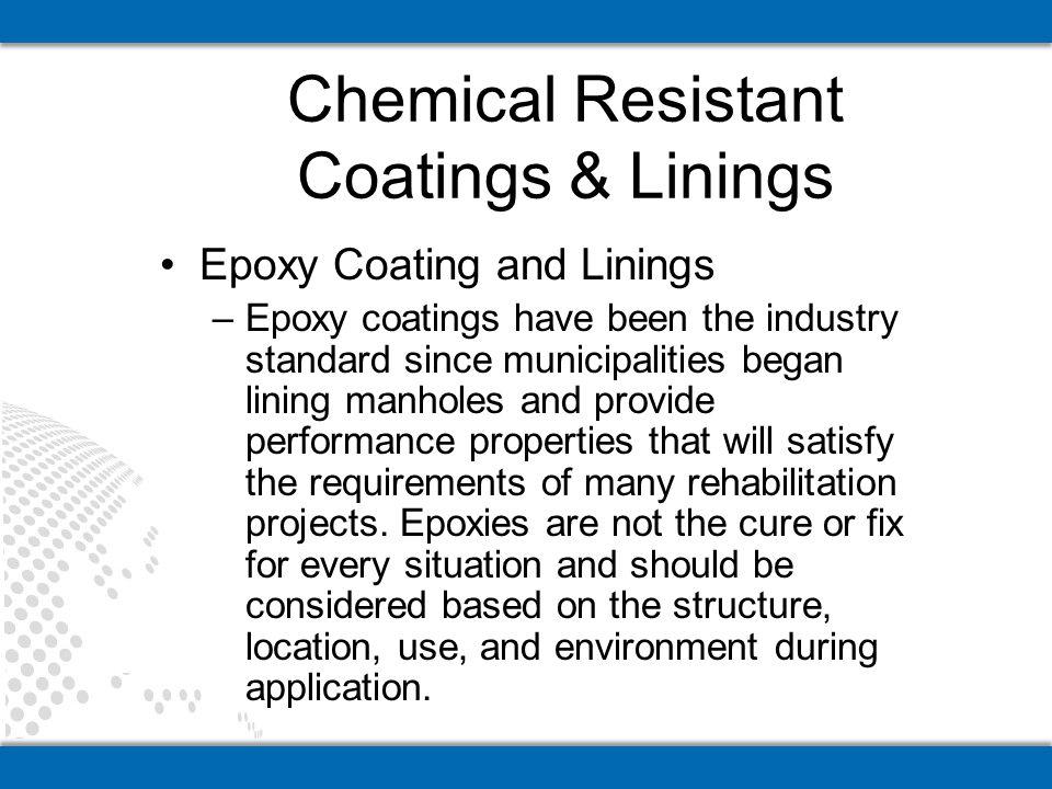 Chemical Resistant Coatings & Linings
