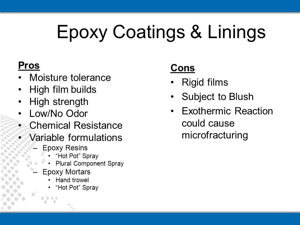 Epoxy Coatings & Linings