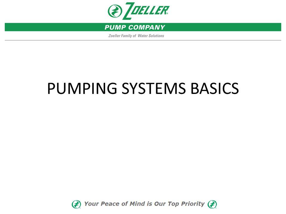 PUMPING SYSTEMS BASICS