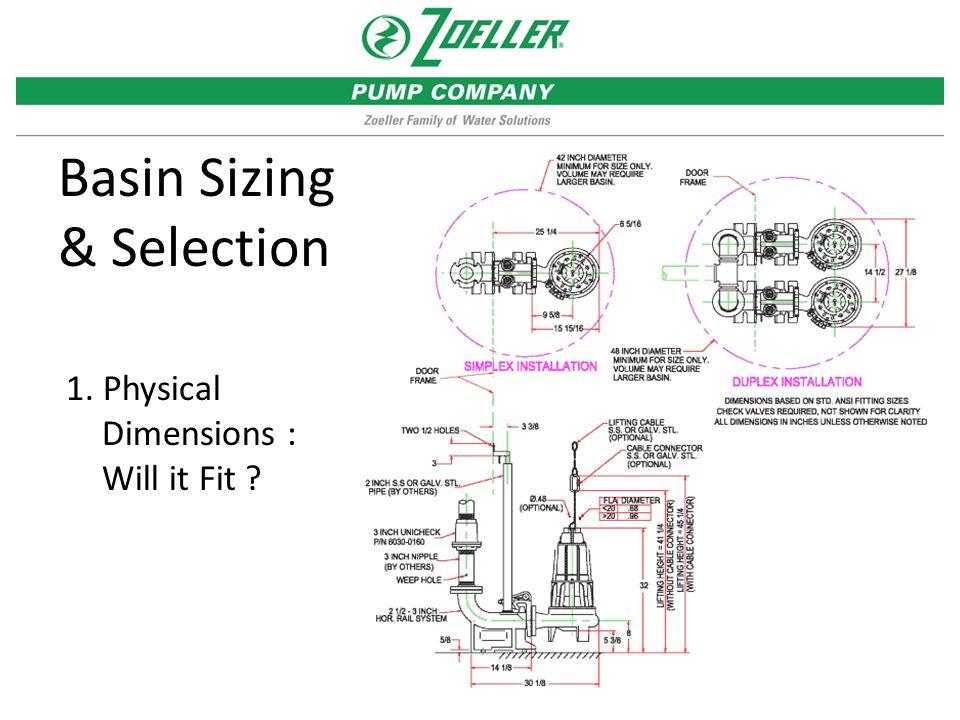 Basin Sizing & Selection