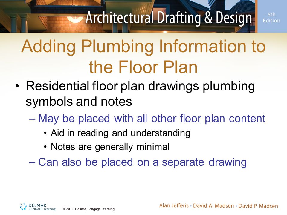Adding Plumbing Information to the Floor Plan