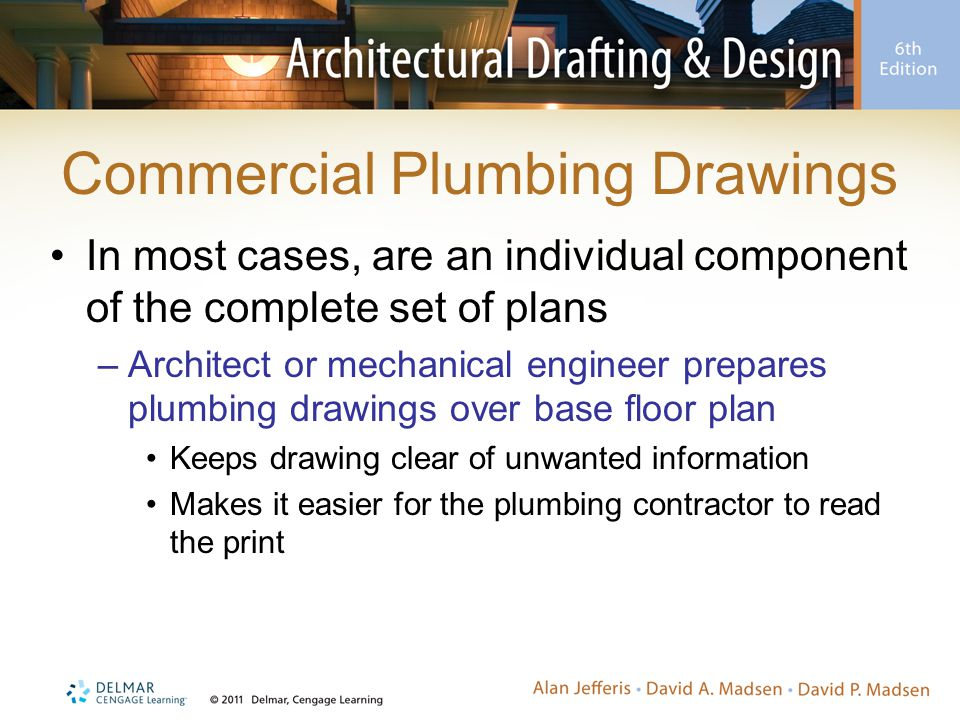 Commercial Plumbing Drawings