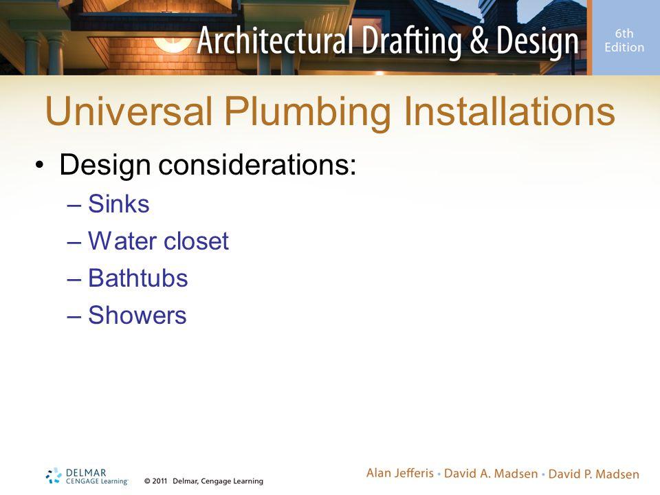 Universal Plumbing Installations