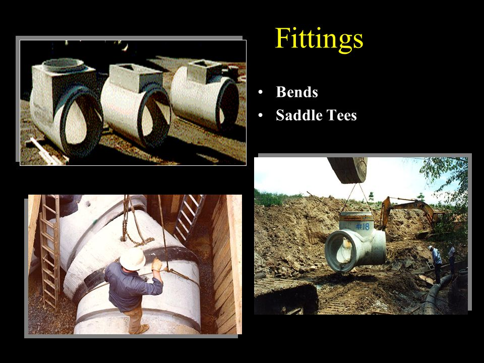 Fittings Bends Saddle Tees
