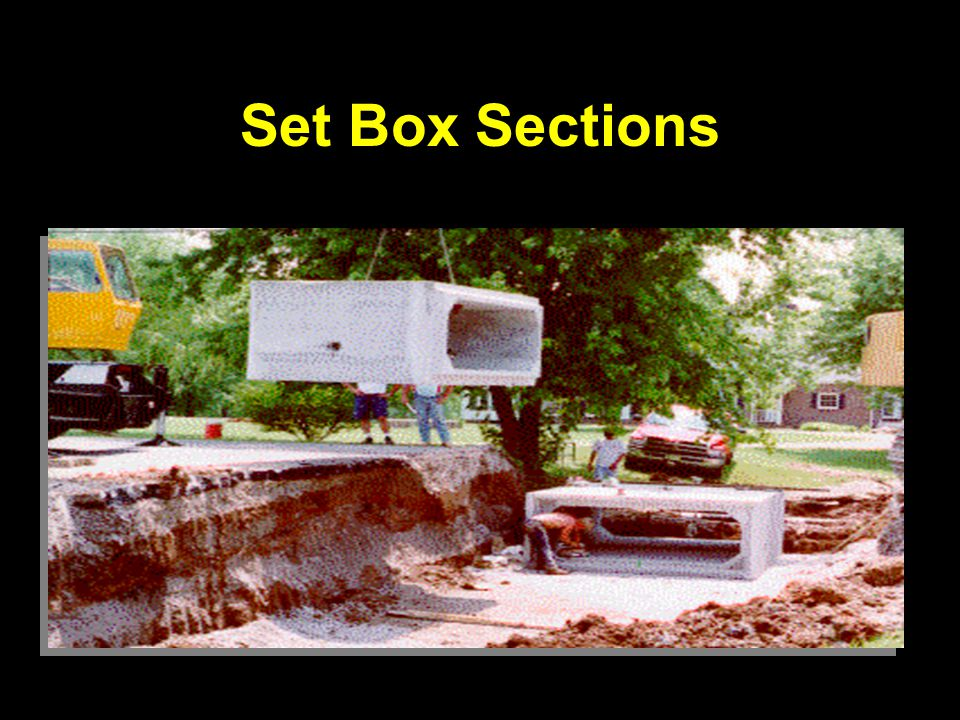 Set Box Sections