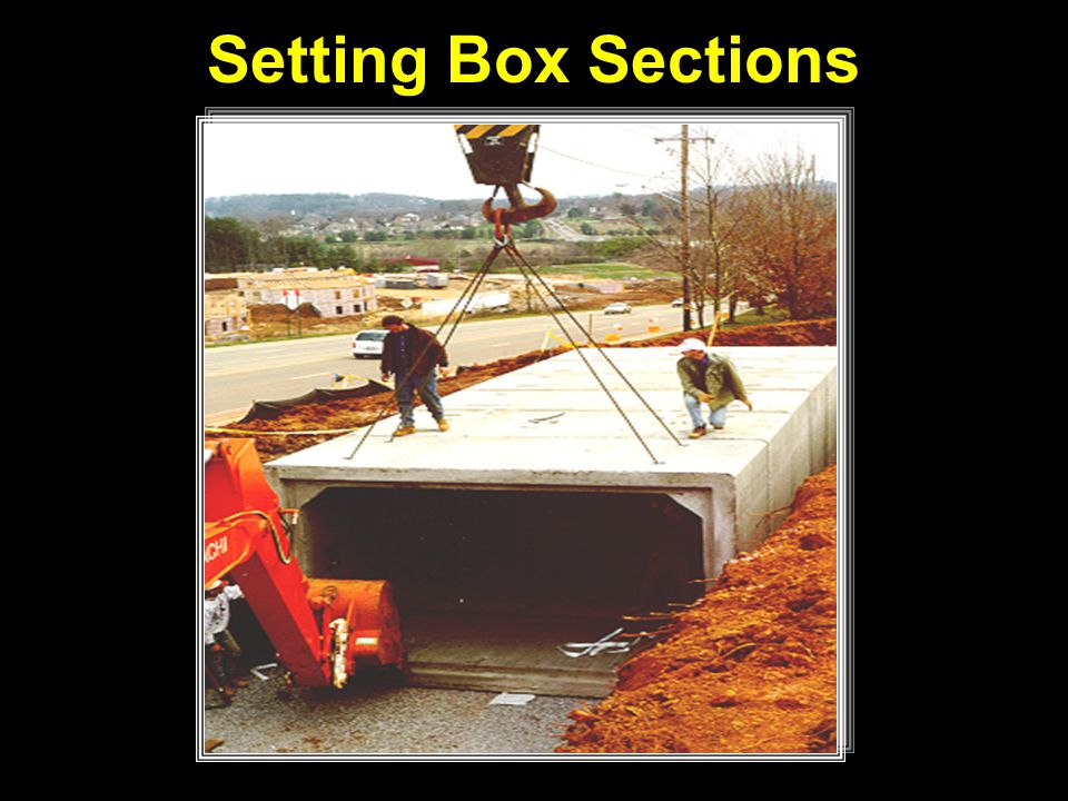 Setting Box Sections