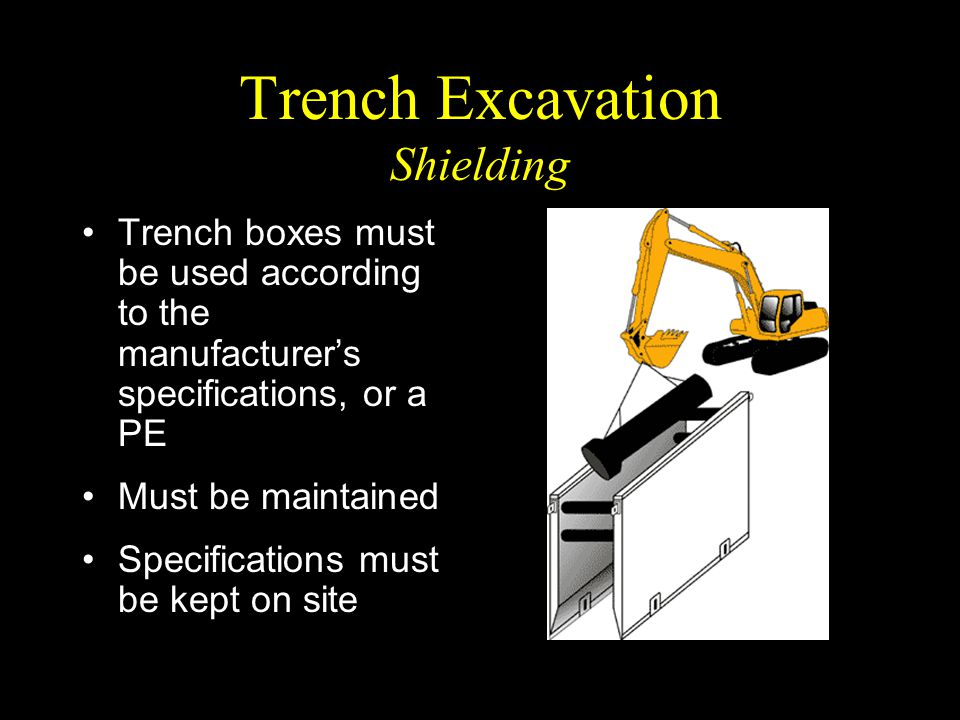 Trench Excavation Shielding