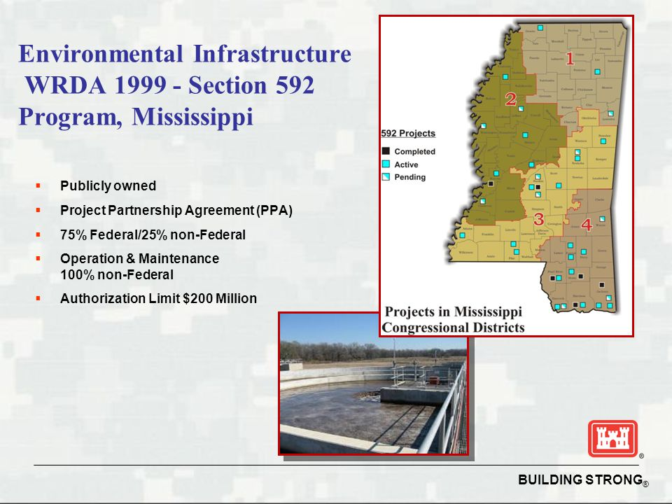 Environmental Infrastructure WRDA 1999 - Section 592 Program, Mississippi