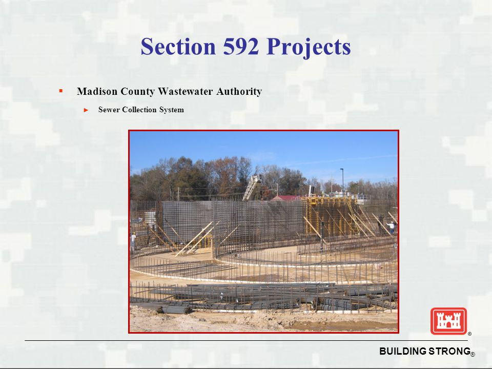 Section 592 Projects Madison County Wastewater Authority