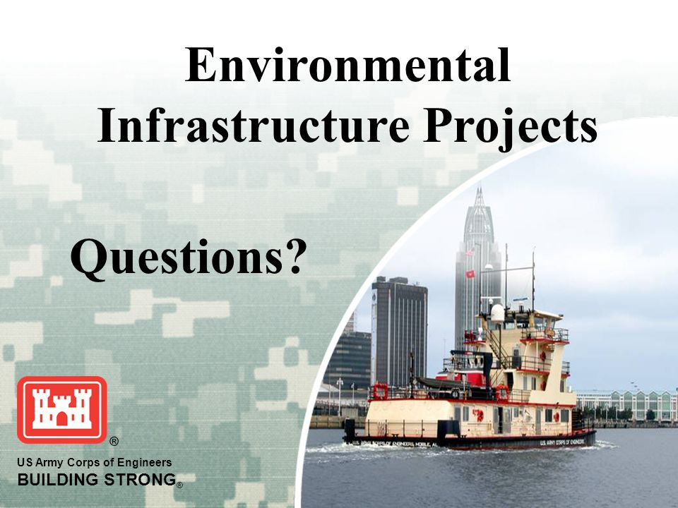 Environmental Infrastructure Projects