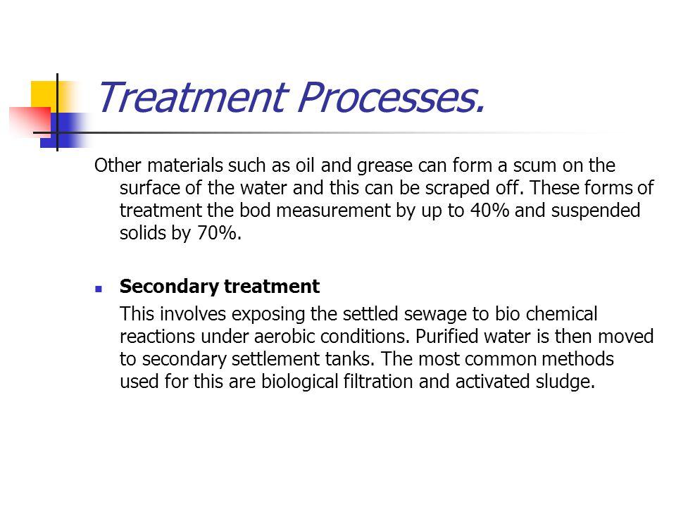 Treatment Processes.