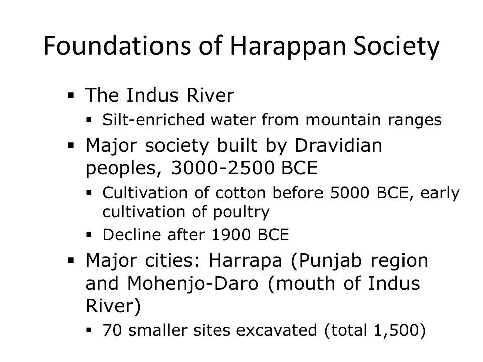 Foundations of Harappan Society