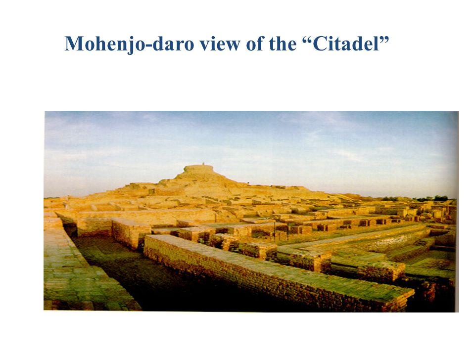 Mohenjo-daro view of the Citadel