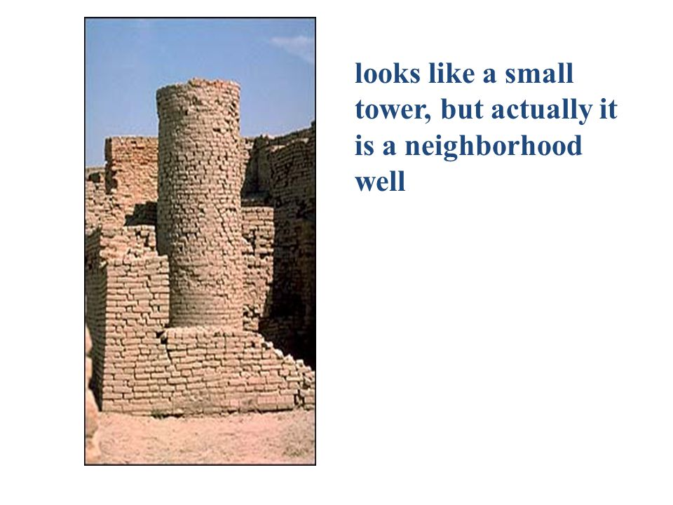 looks like a small tower, but actually it is a neighborhood well