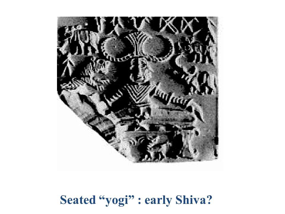 Seated yogi : early Shiva
