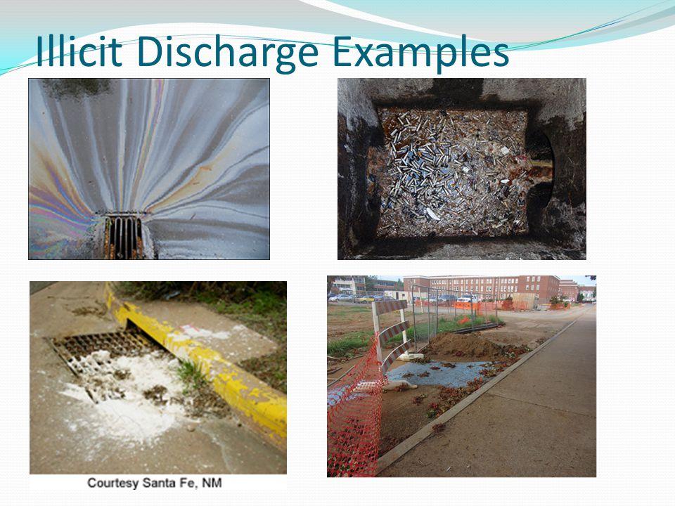 Illicit Discharge Examples
