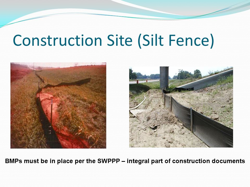 Construction Site (Silt Fence)