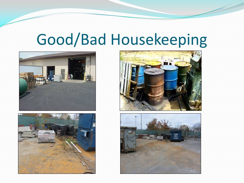 Good/Bad Housekeeping