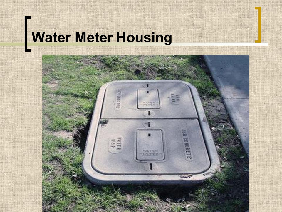 Water Meter Housing