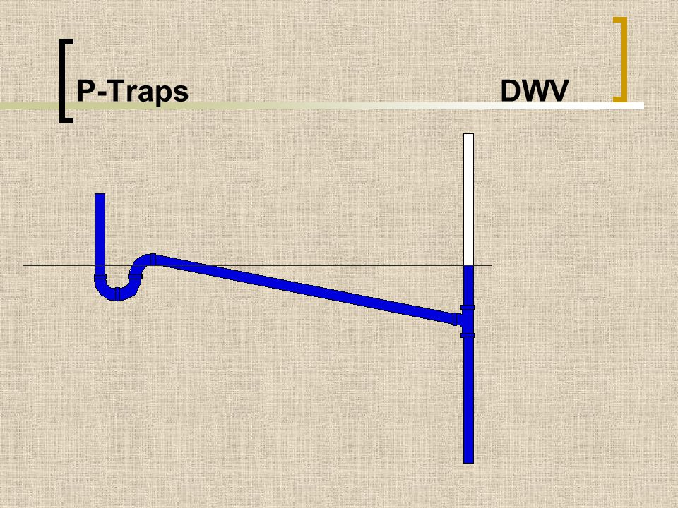P-Traps DWV