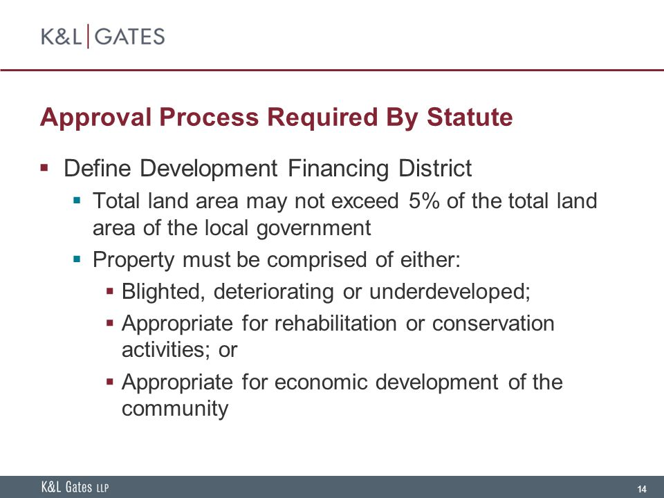 Approval Process Required By Statute