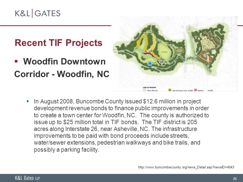 Recent TIF Projects Woodfin Downtown Corridor - Woodfin, NC