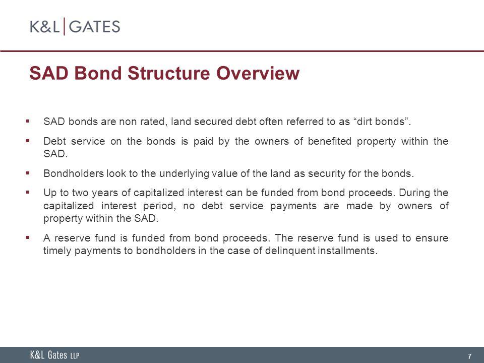 SAD Bond Structure Overview