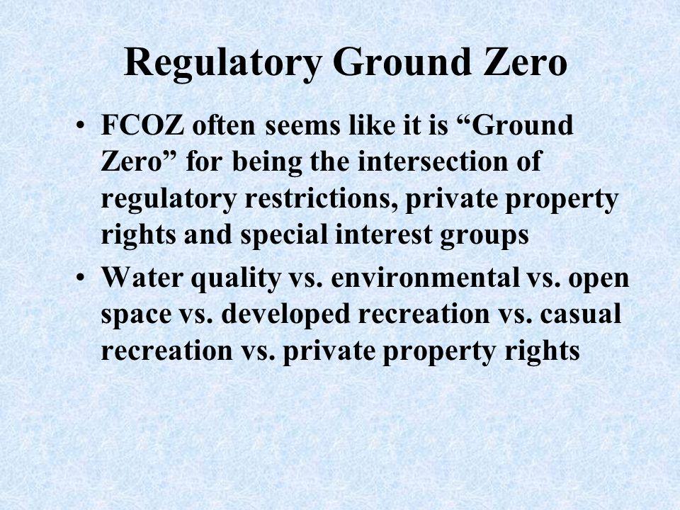 Regulatory Ground Zero