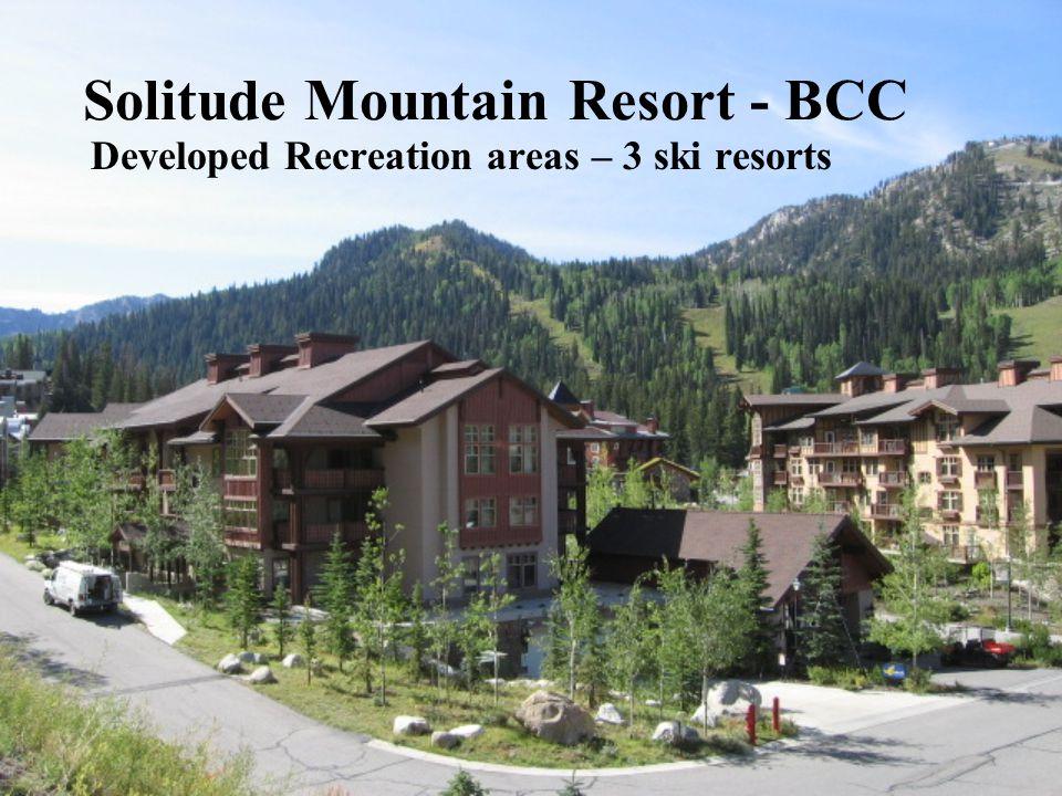 Solitude Mountain Resort - BCC