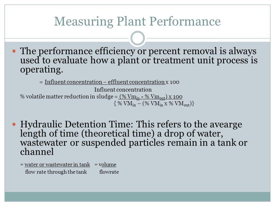 Measuring Plant Performance
