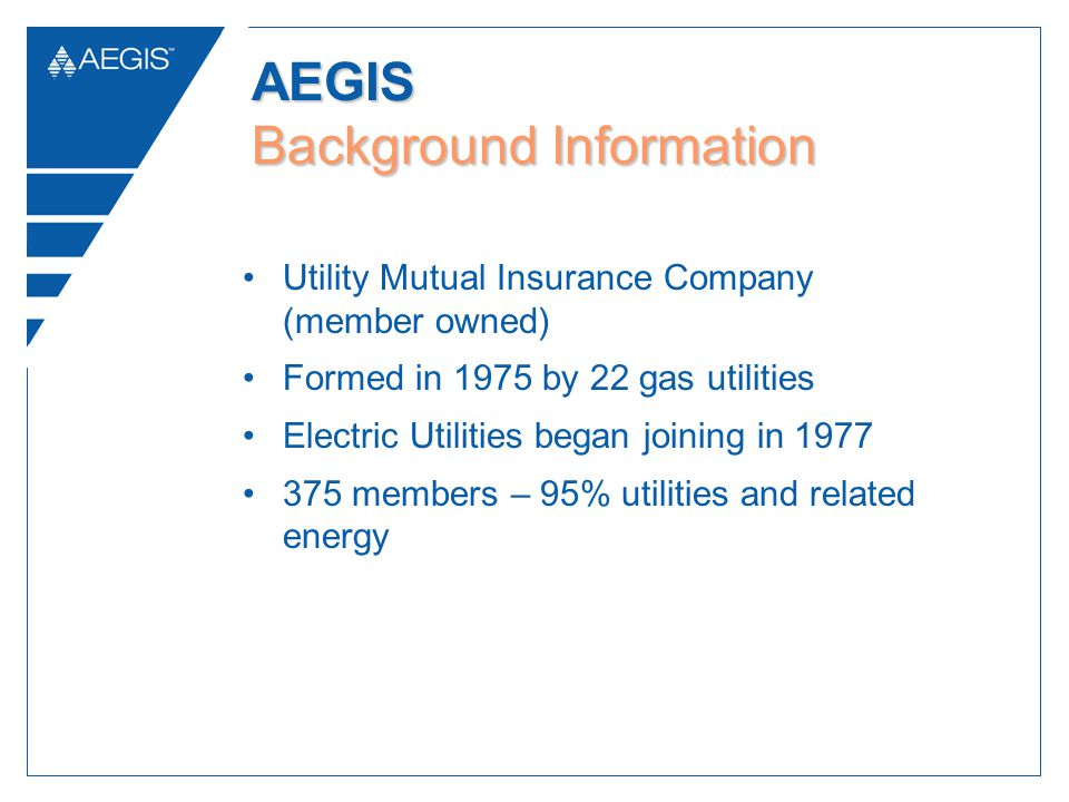AEGIS Background Information