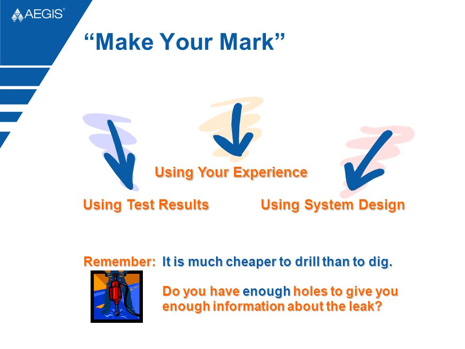Make Your Mark Using Your Experience Using Test Results