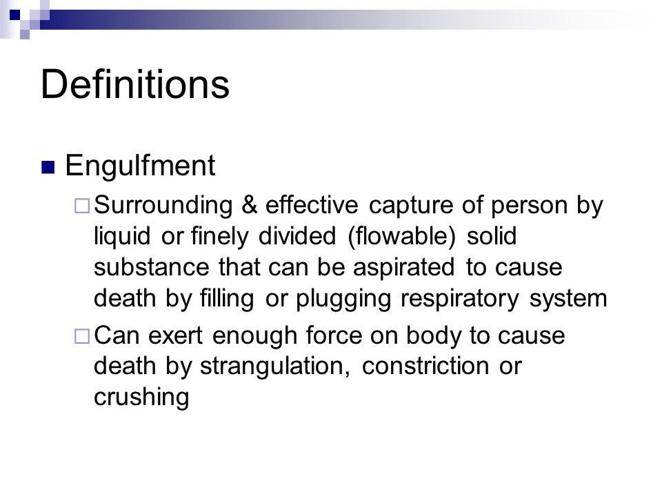 Definitions Engulfment