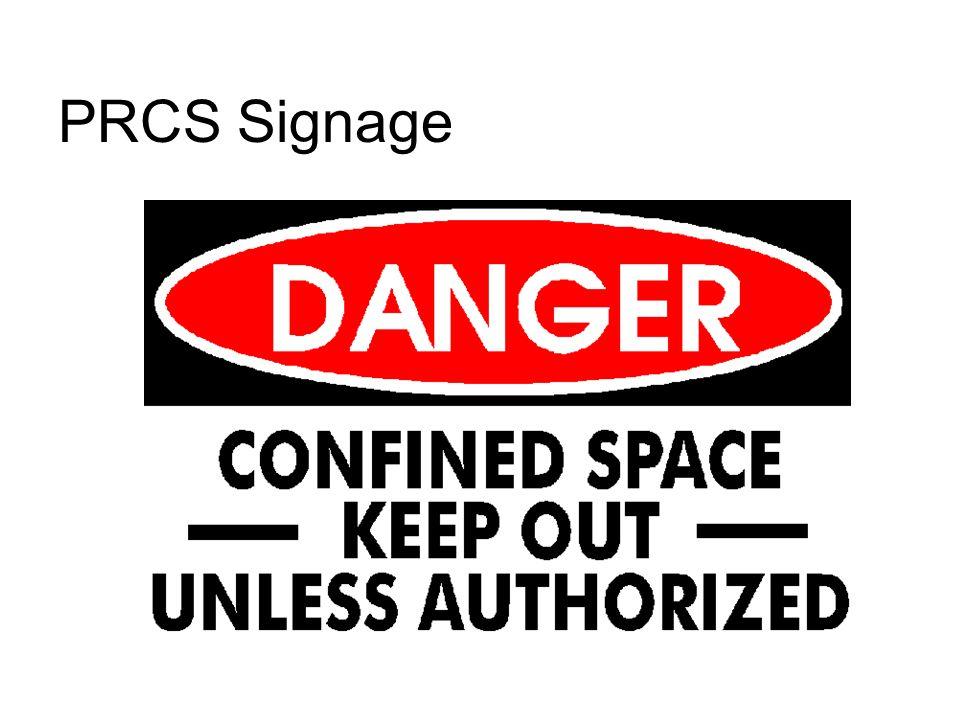 PRCS Signage