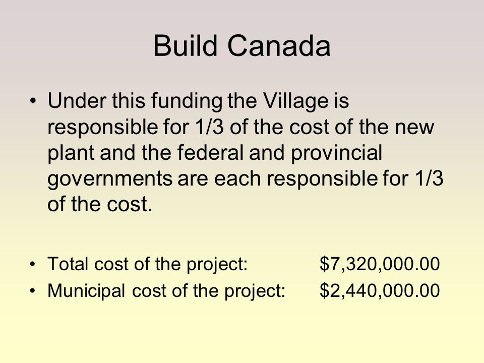 Build Canada