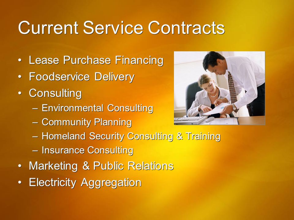 Current Service Contracts
