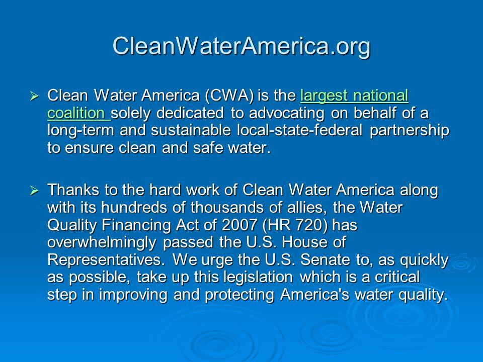 CleanWaterAmerica.org