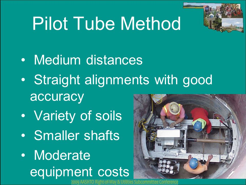 Pilot Tube Method Medium distances