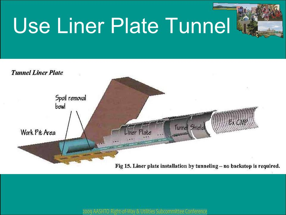 Use Liner Plate Tunnel Notes to Instructor: (Slide #44)