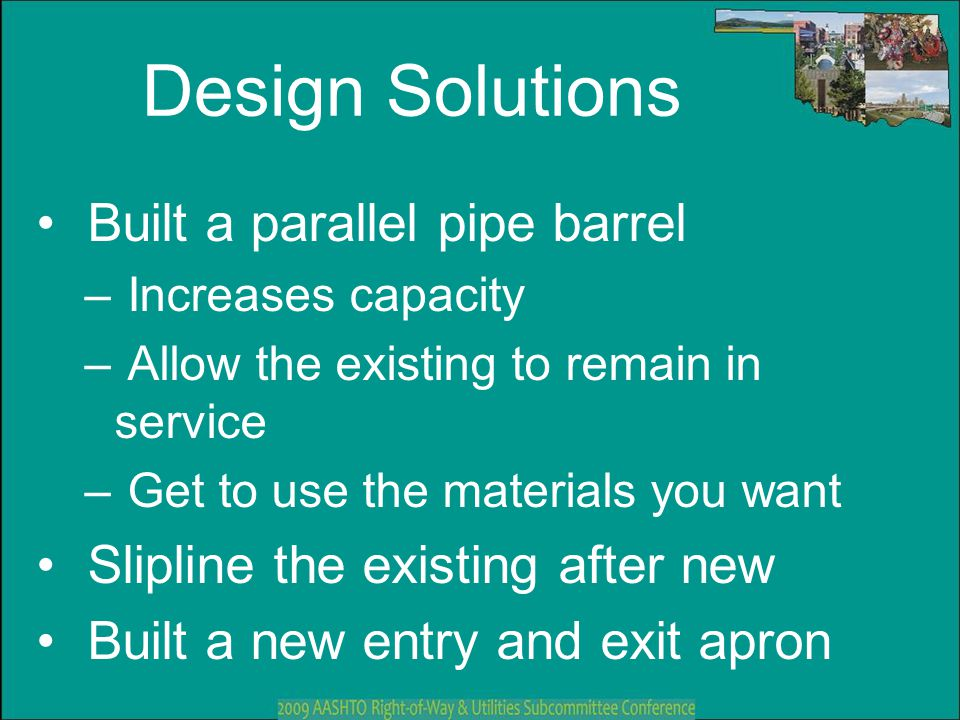 Design Solutions Built a parallel pipe barrel
