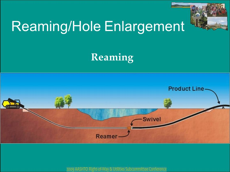 Reaming/Hole Enlargement